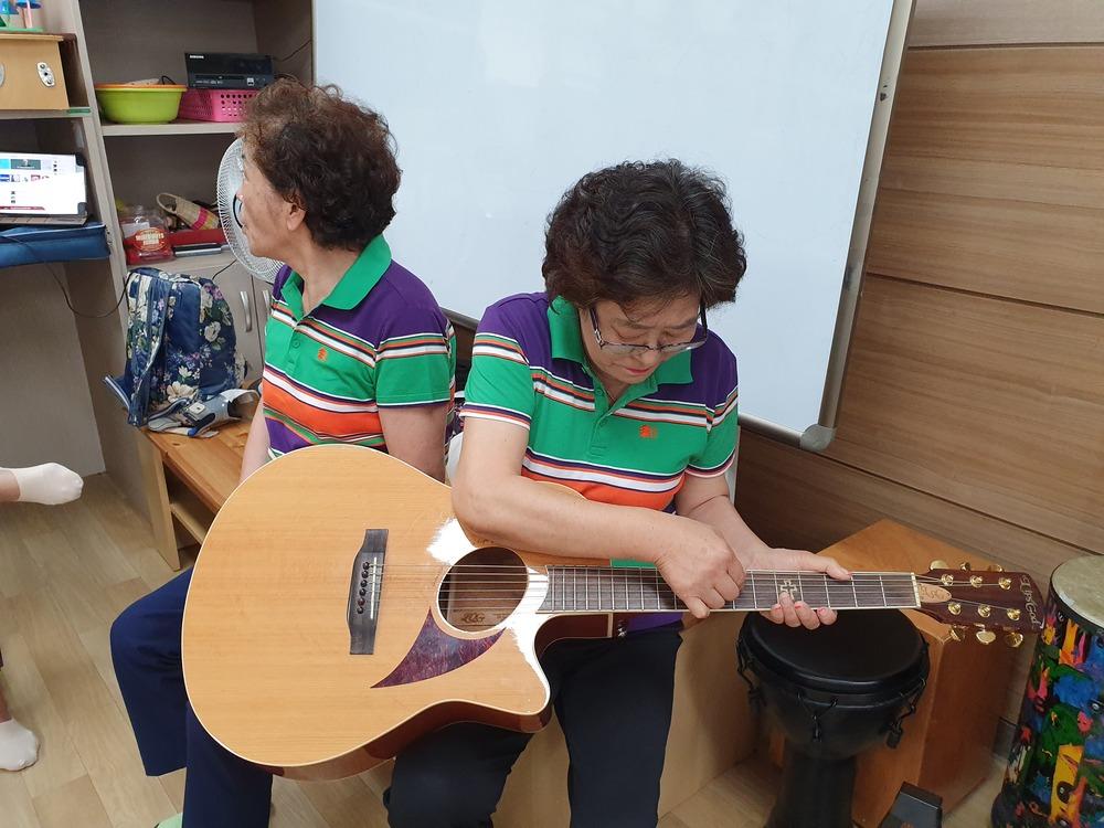 성인 장애여성 집단음악 프로그램